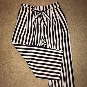 ZARA striped culottes😍 ~make me an offer!!~